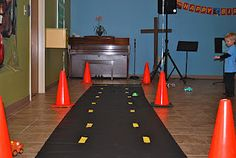 for a race car bday party