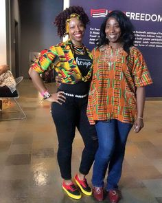 """76006d55240 Koubix African Fashion House on Instagram  """"How are you spending your  Saturday evening    Come hangout with us at the  Harvey B. Gantt center for  the Bantu ..."""