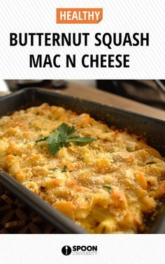 Macaroni and cheese isn't usually thought of as a fall staple, but adding a winter vegetable like butternut squash can make it Thanksgiving table worthy.