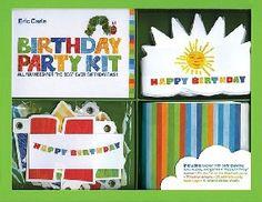 Eric Carle Birthday Kit