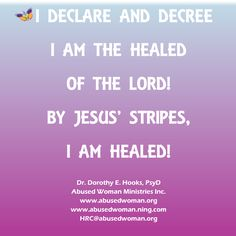 Abused Woman Ministries Inc. Healing Resource Center - Healing Teachings
