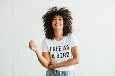 For more styles and products, please visit our website: http://www.thebeeandthefox.com  Professionally screen printed on white t-shirts, black ink.  50% Polyester / 50% Cotton  Available in Womens sizes S, M, L, XL, XXL. We recommend sizing up by one.  Wash cold, tumble dry low.