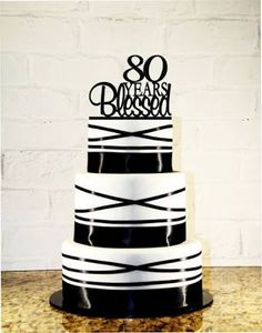 80th birthday cake ideas for a man - Pesquisa Google