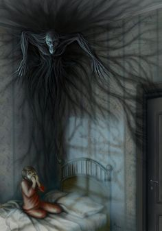 Dark creature in the night inspiration