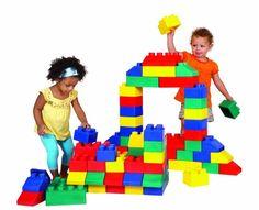 Giant Lego - JV Bouncy Castle Hire Farnborough & Inflatable Slide Rental in Farnborough, Fleet, Aldershot, Farnham, Surrey, Basingstoke, Hampshire