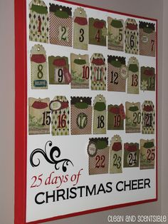 Clean & Scentsible: Advent Calendar Ideas