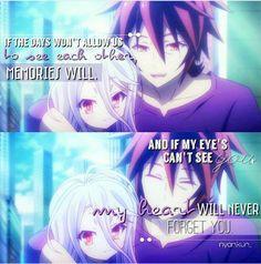 Sora and Shiro || No Game, No Life || Anime Quote