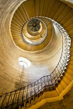 France, Rhone-Alpes, Lyon, Basilica Notre-Dame De Fourviere, The Stair Of One Of The Towers - eStock