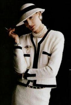 Inès de la Fressange -1986 - Chanel