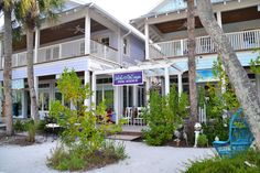 """Known as """"The Greenest Main Street in America"""" Pine Avenue in Anna Maria has tons of shops to browse and enjoy www.annamariaislandhomerental.com"""