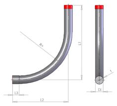 single Inlet bend