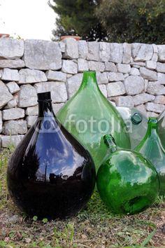 Damigiana / Demijohn bottles