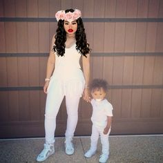 Ma and King my nephew taking pics while Mia sleep by ashleynykolewestbrooks on Polyvore featuring polyvore, fashion and style
