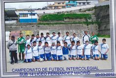 En el liceo Futbol