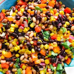 The BEST Cowboy Caviar Recipe Ever Perfectly serve Cowboy Caviar as a side dish and or as an appetizer. The easiest and most simple dip to make in minutes. Every bite includes a sharp sweet flavor. Mexican Food Recipes, New Recipes, Vegetarian Recipes, Cooking Recipes, Favorite Recipes, Healthy Recipes, Potato Recipes, Cold Dip Recipes, Healthy Dip Recipes