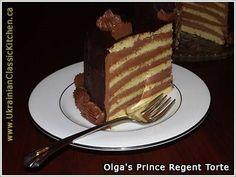 Prinzregententorte - one of my grandmother's signature cakes....well worth the effort!