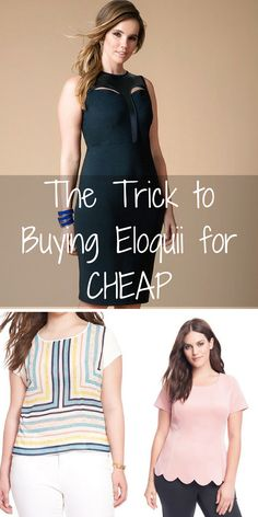 Eloquii Sale Happening Now! Shop looks that will take you from the office to happy hour at up to to 70% off retail. Click the image to install the FREE app now! As featured on Good Morning America, Cosmo & WWD.