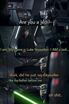 Simbolos Star Wars, Star Wars Meme, Star Wars Facts, Star Wars Comics, Really Funny Memes, Stupid Funny Memes, Funny Relatable Memes, Hilarious, Star Wars Pictures