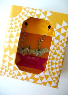 boite emballage boucles d'oreille Kesi'art