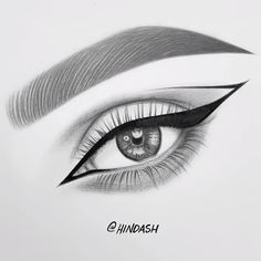 eye shapes drawing 804314814689798739 - EYE DRAWING How satisfying is this winged liner drawing? By: Hinda Hoffman Source by Art Drawings Beautiful, Cool Art Drawings, Pencil Art Drawings, Realistic Drawings, Easy Drawings, Eye Drawing Tutorials, Drawing Techniques, Drawing Tips, Drawing Drawing