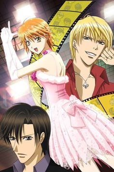 Skip Beat! Kyoko's boyfriend becomes a j-pop superstar and dumps her, so she's out for revenge. She's pretty damn hilarious to watch -- you've never seen anyone angrier than her (well, maybe you have). The anime seems to have some interesting insights into acting as the story progresses. Like most shoujo, the manga's ongoing, but this series ended after 26 episodes. Still good to watch.