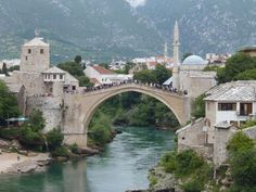 One more shot looking back at everything, Mostar, BiH.