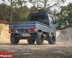 Mini Trucks, Lifted Trucks, Pickup Trucks, Adventure Trailers, Adventure Car, Honda Pickup, Mini 4x4, Suzuki Carry, Wagon R
