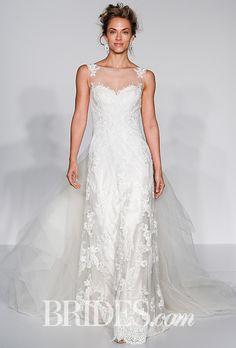 27bf9d6995 Brides  Maggie Sottero Wedding Dresses - Spring 2016 - Bridal Runway Shows  - Brides.