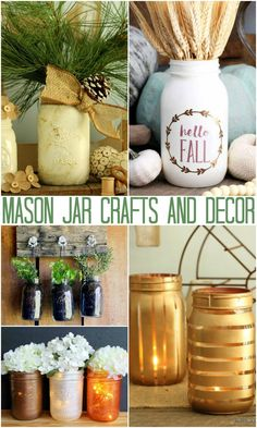 A collection of craft and decor ideas with jars from The Country Chic Cottage. Mini Fairy Garden: An Adorable Spring Craft Wedding Mason Jars: Made with Cut Felt Jar Crafts: 20 Ideas for Anytime of the Year How to Make Sugar Scrub: A Great Gift Idea 2 Ingredient Cookies in a Jar: An Inexpensive Gift …