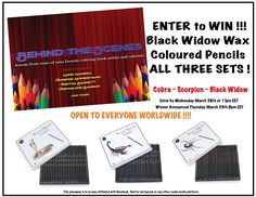 Enter+to+WIN%21+Black+Widow%2C+Cobra+%26+Scorpion+Wax+Coloured+Pencils+%21