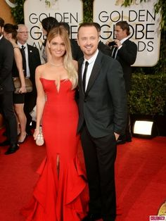 Just a Darling Life: Best Dressed: Golden Globe Awards 2014, Lauren Parsekian in Michael Costello