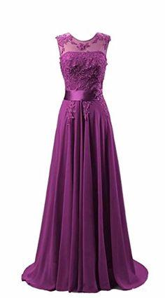 KMFORMALS Women's Long Lace Prom Evening Dresses...