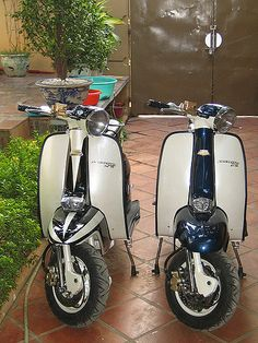 Step one: Taylor moves to NoVA Step two: we buy these bitchin' scooters Step three: Awesomeness ensues. Scooters Vespa, Piaggio Scooter, Mod Scooter, Scooter Motorcycle, Motor Scooters, Motor Car, Scooter Images, Jorge Martinez, Races Style