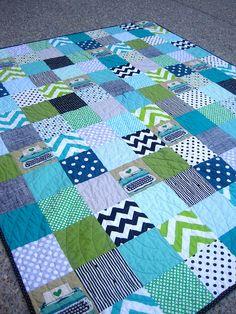 Writer's Block quilt complete! by kelbysews, via Flickr