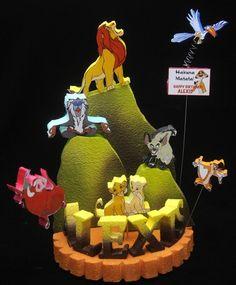 THE LION KING CAKE TOPPER  | Adianezh - Seasonal on ArtFire
