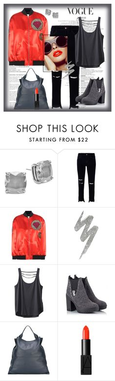 """""""Untitled #535"""" by susans-sg ❤ liked on Polyvore featuring Kate Spade, J Brand, Yves Saint Laurent, Urban Decay, Kavu, Alberto Guardiani, Jil Sander and NARS Cosmetics"""