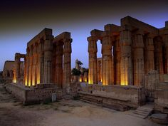 Ancient Temple on the Nile River