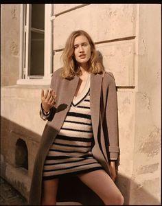 L'Officiel Paris September 2017 Laetitia Montalembert by Luc Coiffait Fashion Photo, High Fashion, Laetitia, Knitwear Fashion, Parisian, Editorial Fashion, Sweaters For Women, High Neck Dress, Blazer