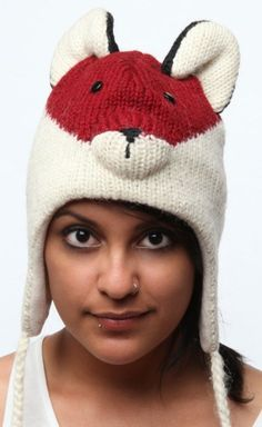 i need a fox hat. puhlease