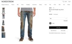 Nordstrom Sales Mud-Covered Jeans For $425 What is up with these luxury brand companies taking things that aren't typically expensive, and making them cost an a