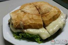 Receita de Sanduíche de carne e queijo em receitas de paes e lanches, veja essa e outras receitas aqui!