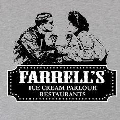 farrells ice cream parlour shirt, tee vintage tees