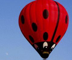 red hot air balloon?