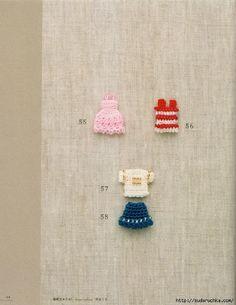 Crocheted beaded flowers, fruits, vegetables, objects ... #Japanese #crochet #book