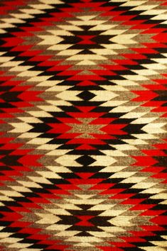 Two Grey Hills design for a Native American blanket. Love the pattern and the colors. Native American Blanket, Native American Rugs, Native American Patterns, American Indian Art, Native American Design, Navajo Art, Navajo Rugs, Navajo Pattern, African Prints