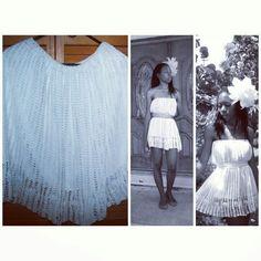 THread crochet dress