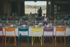 Rainbow Chairs Folding Chair, Bar Stools, Chairs, Rainbow, Events, Vintage, Home Decor, Bar Stool Sports, Rain Bow