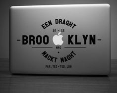 Brooklyn Decal For MacBook