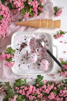 Frozen Desserts, Frozen Treats, I Want To Eat, Homemade Ice Cream, Ice Cream Recipes, Food And Drink, Sweet, Icecream, Kitchen