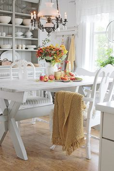 VIBEKE DESIGN: Time for autumn food inside and out!